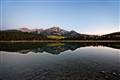 Pyramind Mt and Lake