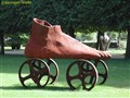 A Shoe in the park