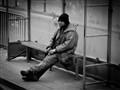 Homeless waiting for the Tram