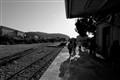 Entree en gare de Calvi