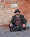 a beggar in venice