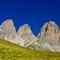 Sassolungo & Sassopiato Mountains, Dolomites, Italy