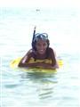 Siham snorkeling