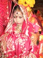 A part of Indian wedding ceremony