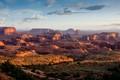 Sunrise in Monument Valley, Utah.