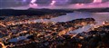 bergen night pano