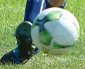Foot meets ball