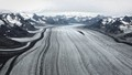 Glacier With Tributaries