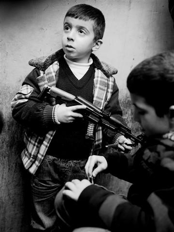 Boys with guns