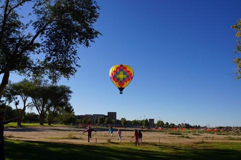 A65 ballon chasing
