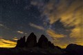 "Starry sky over ""Tre Cime"""