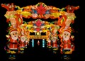Chinese light festival - Santa Claus
