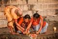 Offrande au Ganges