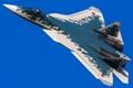 Su-57 at MAKS 2019
