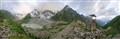 Middle Caucasian landscape