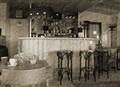Old beach bar. Bergen aan Zee, Netherland