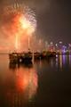 National Day fireworks, over Doha's Skyline