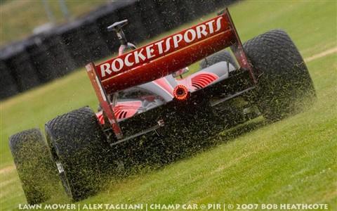 Champ Car Lawn Mower