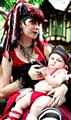 Ren Faire mother and child