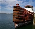 st andrews marina  Barge