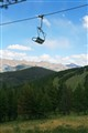 Idle chairlift