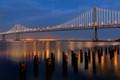 Blue Hour SF-Oakland Bay Bridge