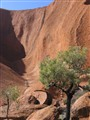 Ayers Rock -- not the usual view