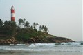 Light house at kovalam beach, Kerala ( INDIA)