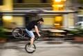stunts on a bike