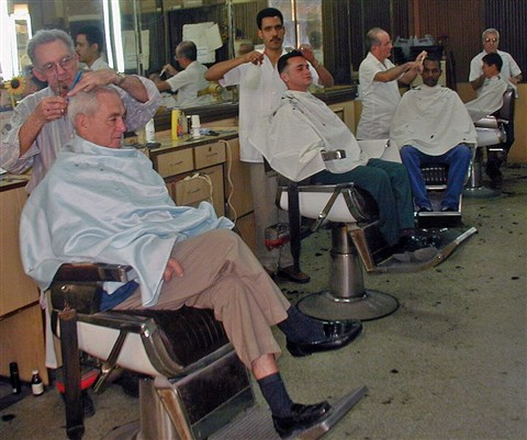 Old Fashioned Barbershop...