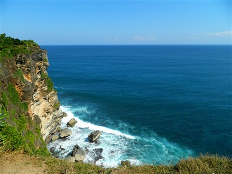 From the Cliff - Uluwatu (Bali)