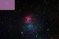 M20 Trifid Nebula = 5 x 12 minutes