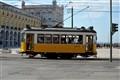 Tram at Praça do Comércio Lisboa