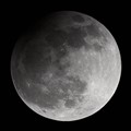 Partial lunar eclipse on 2013-04-25