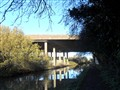Coventry Canal  Under the M6 Motorway UK