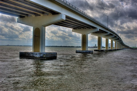 Bridge over the Indian River at Titusville