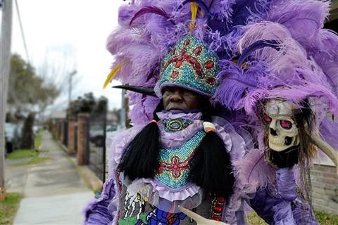 Mardi Gras Indians 32