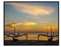 Sunrise at Sanur.