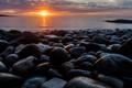 Cobblestone Sunrise, Acadia
