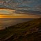 Highlands sunset light