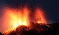 Simultaneous Stromboli's eruptions
