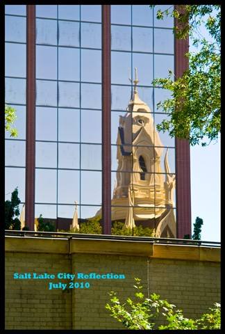 Salt Lake City Reflection