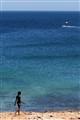 Walk on Portugese beach