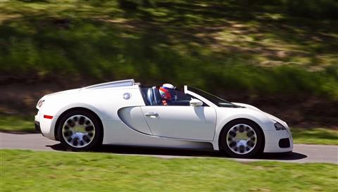 Bugatti Veyron at Prescott