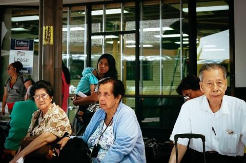 Bus Stop Scene