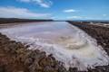 Punta de Fuencaliente is the southern cape of La Palma, Teneguia salt pans. The water is warm due to the high salt content