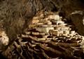 Natural limestone formation in Skocjanske jame