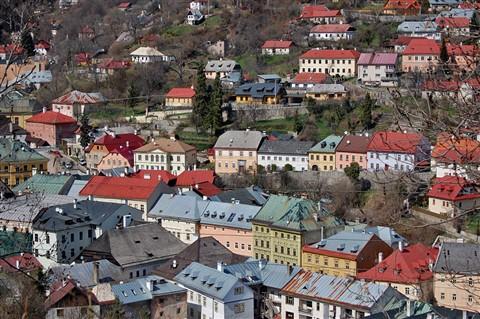 beautifull town Banska Stiavnica