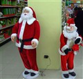 rechargeable Santa  & son