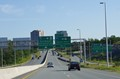 Highway 118 into Dartmouth, Nova.Scotia